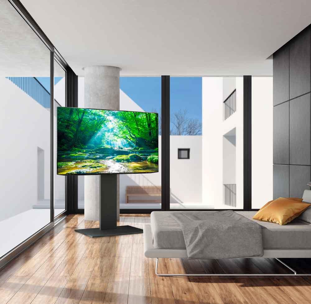 WALL INTERIOR TV STAND S1 自立型テレビスタンド