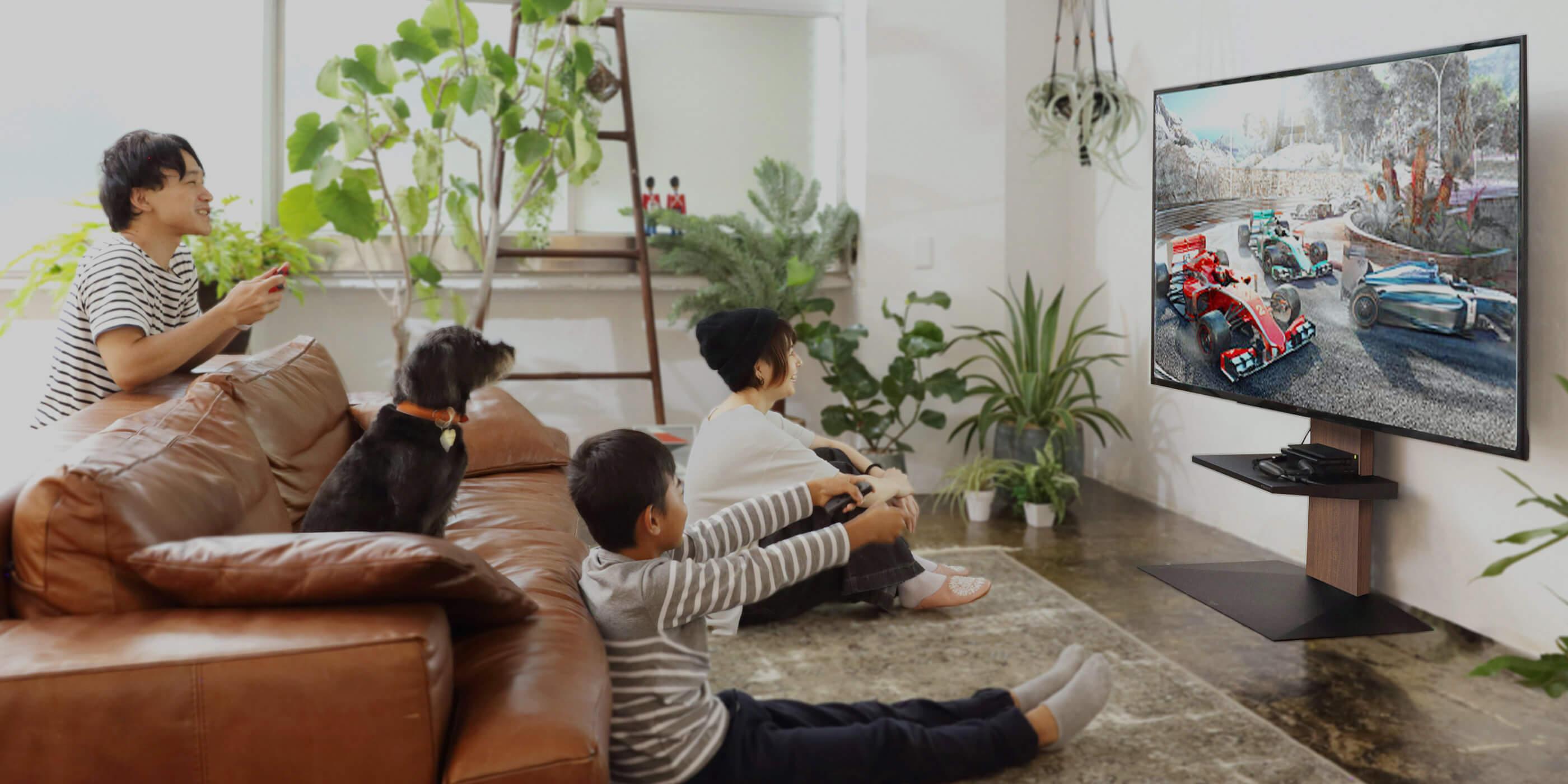 WALL INTERIOR TV STAND V3 壁寄せテレビスタンドV3