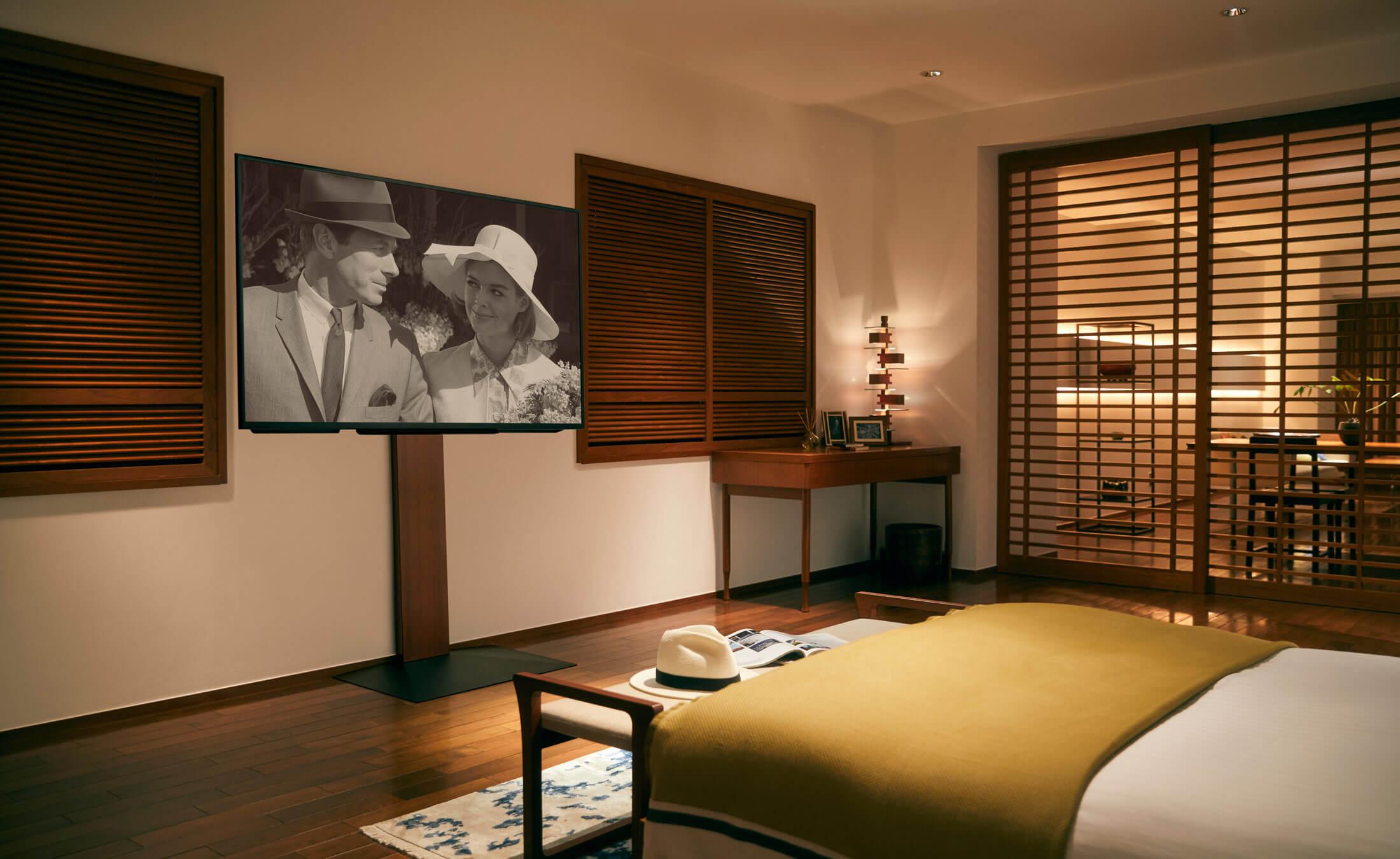 WALL INTERIOR TV STAND V3 壁寄せテレビスタンドV3 BEDROOM 4枚目