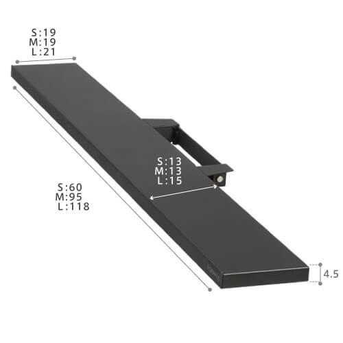 別売オプション:V2・V3サウンドバー専用棚板