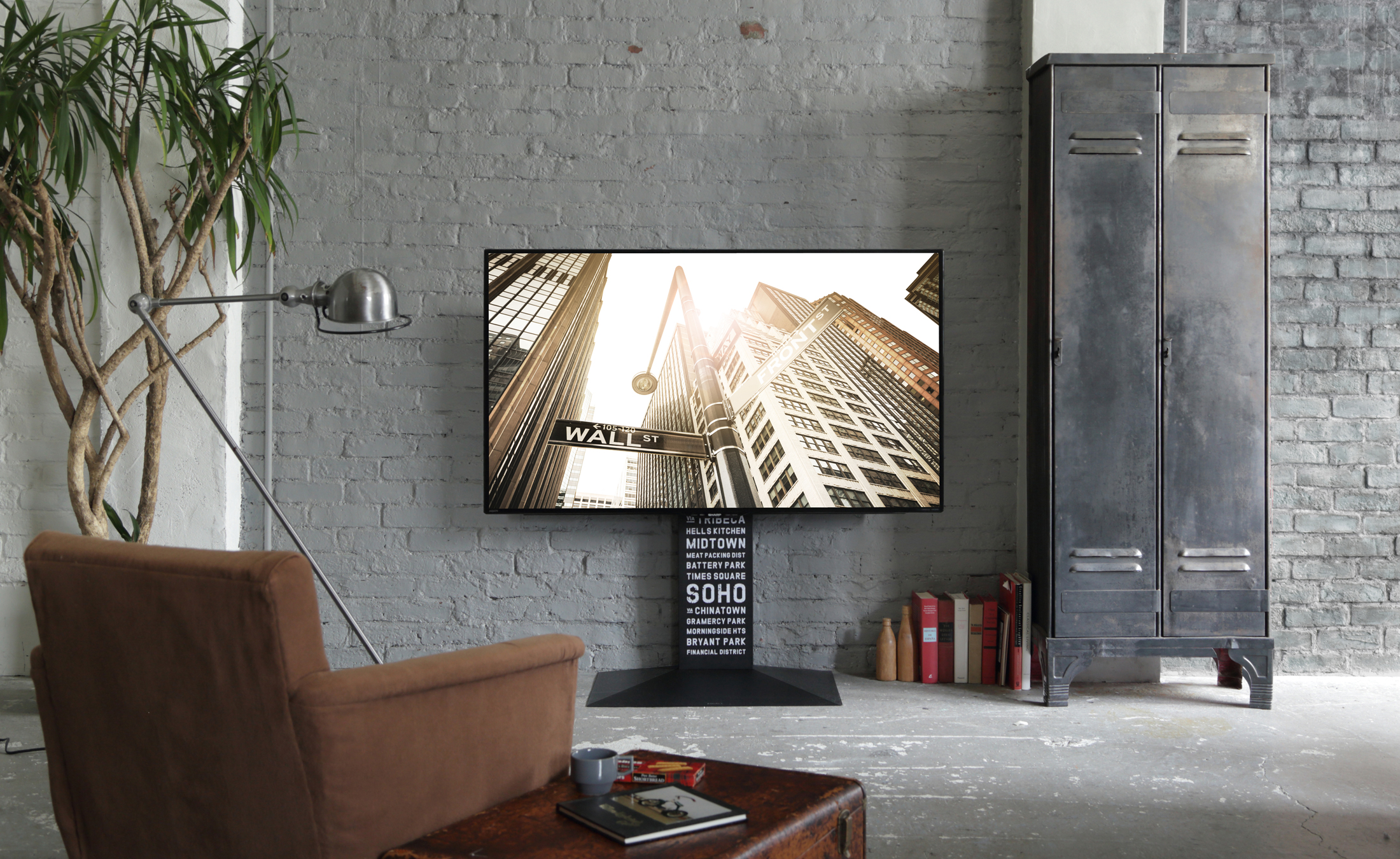 WALL INTERIOR TV STAND V3 壁寄せテレビスタンドV3 LIVING ROOM