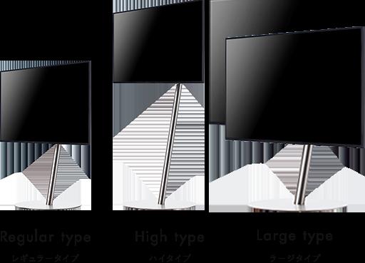 anataIRO レギュラータイプ ハイタイプ ラージタイプ画像